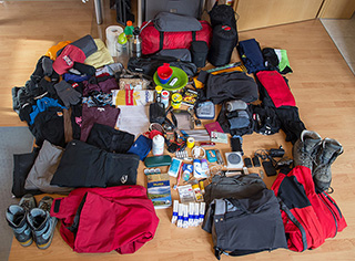 Test Packing for Iceland